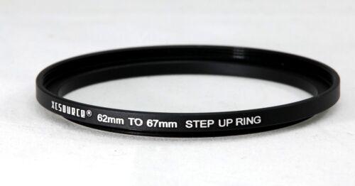 Anillo Aumento 62-67mm Negro Aluminio ** ** vendedor del Reino Unido