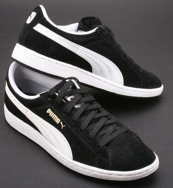 Puma Schuhe Supersuede Wns 351275 07 black/white