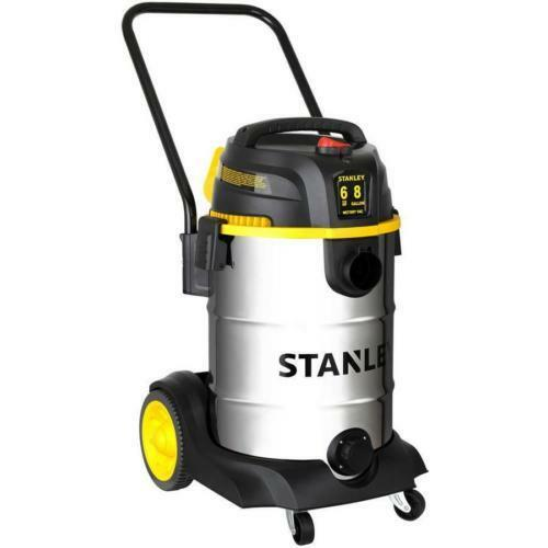 Wet Dry Vac Shop Vacuum 8 Gallon 6 Peak HP Cleaner Stainless Steel Portable New