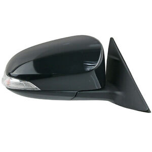 Front Right Black Electric Door Side Mirror For Camry ASV50 ASV51 2012-17