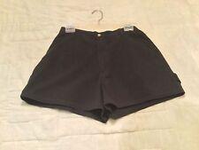 Misses Shorts Black Size 8 LIGO Carpenter Painter Style