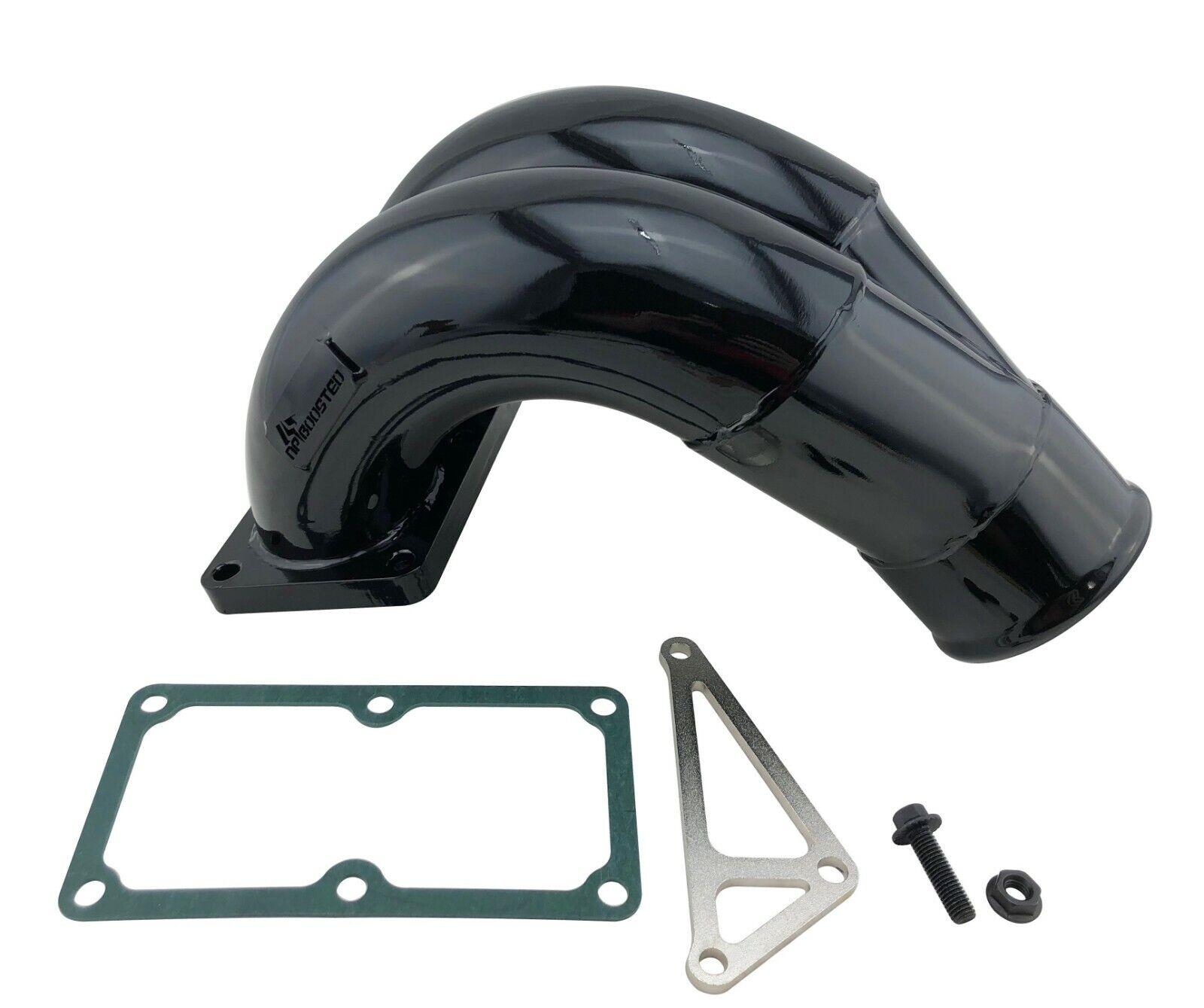EGR Upgrade Intake Manifold Elbow Horn for 2010-14 Dodge Ram 6.7L 2500 3500 4500