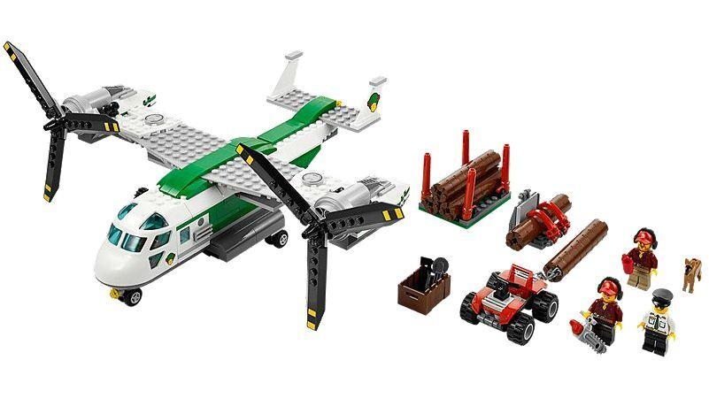 LEGO® City 60021 Schwenkredorflugzeug NEU OVP_ Cargo Heliplane Heliplane Heliplane NEW MISB NRFB 40a83c