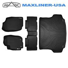 Maxliner 13-17 Toyota RAV4 Custom Floor Mats And Cargo Liner Set Black