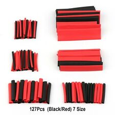 127pcs Heat Shrink Tubing Wrapping Assorted Kit Tube Sleeving Electrical Cable
