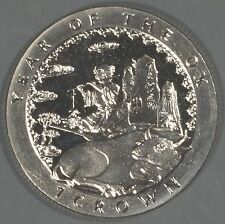 """Isle of Man 1997 """"Year of the Ox"""" 1 Crown Coin"""