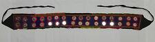 Indian espejados Karnataka étnico hippy cinturón tribal Varios Colores (BL19)