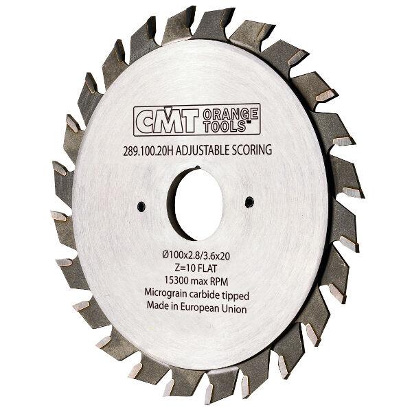 Lame incisore industriali CMT XTreme regolabili Cod.:289.120.24T