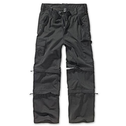 Savanna SavannahTrekking Pantaloni Nero Pantaloni Cargo-uomo pantaloni Brandit