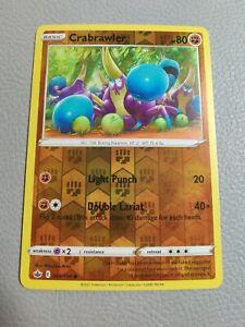 Crabrawler Reverse Holo | MINT | SWSH Chilling Reign 084/198 | Pokemon
