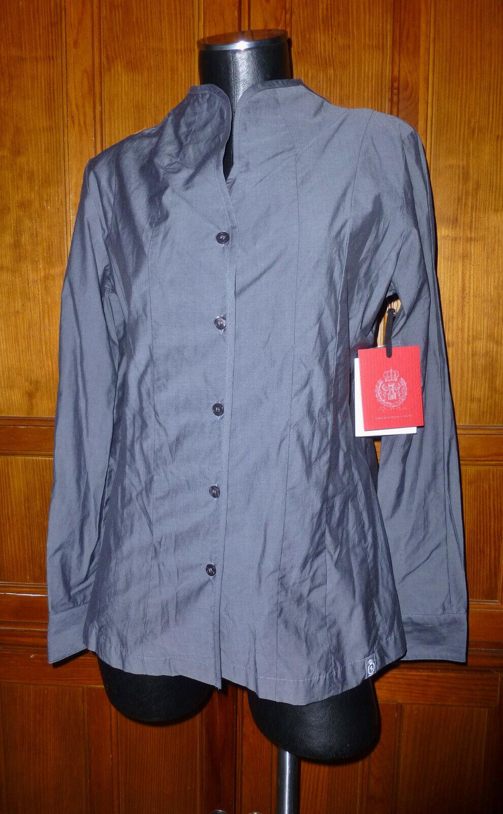 New O'shaughnessy Sara Griot Fine Equestrian Cotton Blouse Top Shirt Größe 6