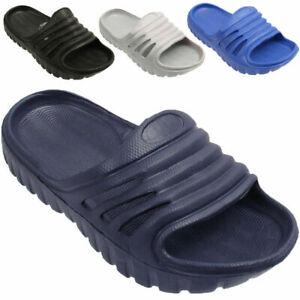 Kids Infant Girls Boys Contrast  Colors Clogs Slip On Flip Flop Slippers Shoes