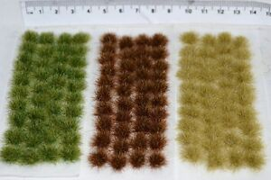 Large Static Grass tufts - Self Adhesive basing wargame miniature models Rail rfKywafx-09155840-669623361