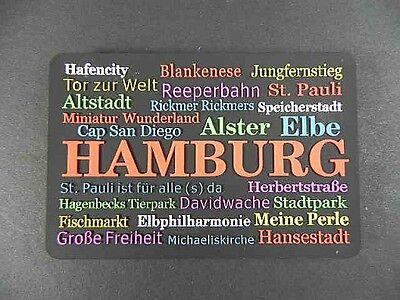 Magnet Hamburg Germany,Michel,St.Pauli,Hafen ...,RUBBER KOLLEKTION