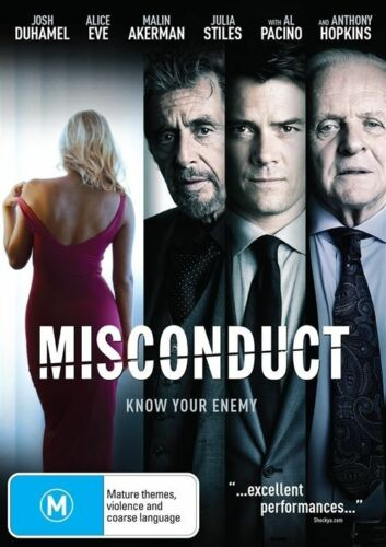1 of 1 - Misconduct (DVD, 2016)
