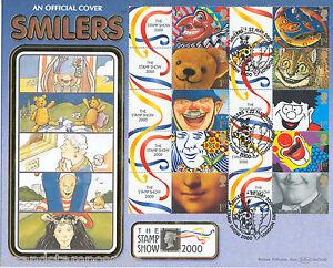 2000 Stamp Show Smilers Sheet - Benham BLCS 182 - Clown H/S - ONLY 55 !
