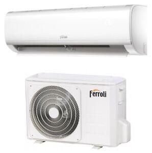 Climatizzatore FERROLI DIAMANT PLUS S 12000 btu R32 Inverter WIFI A++ New 2021