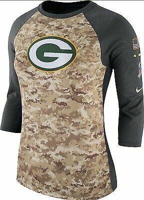 Green Bay Packers Salute To Service 2017 Damenshirt