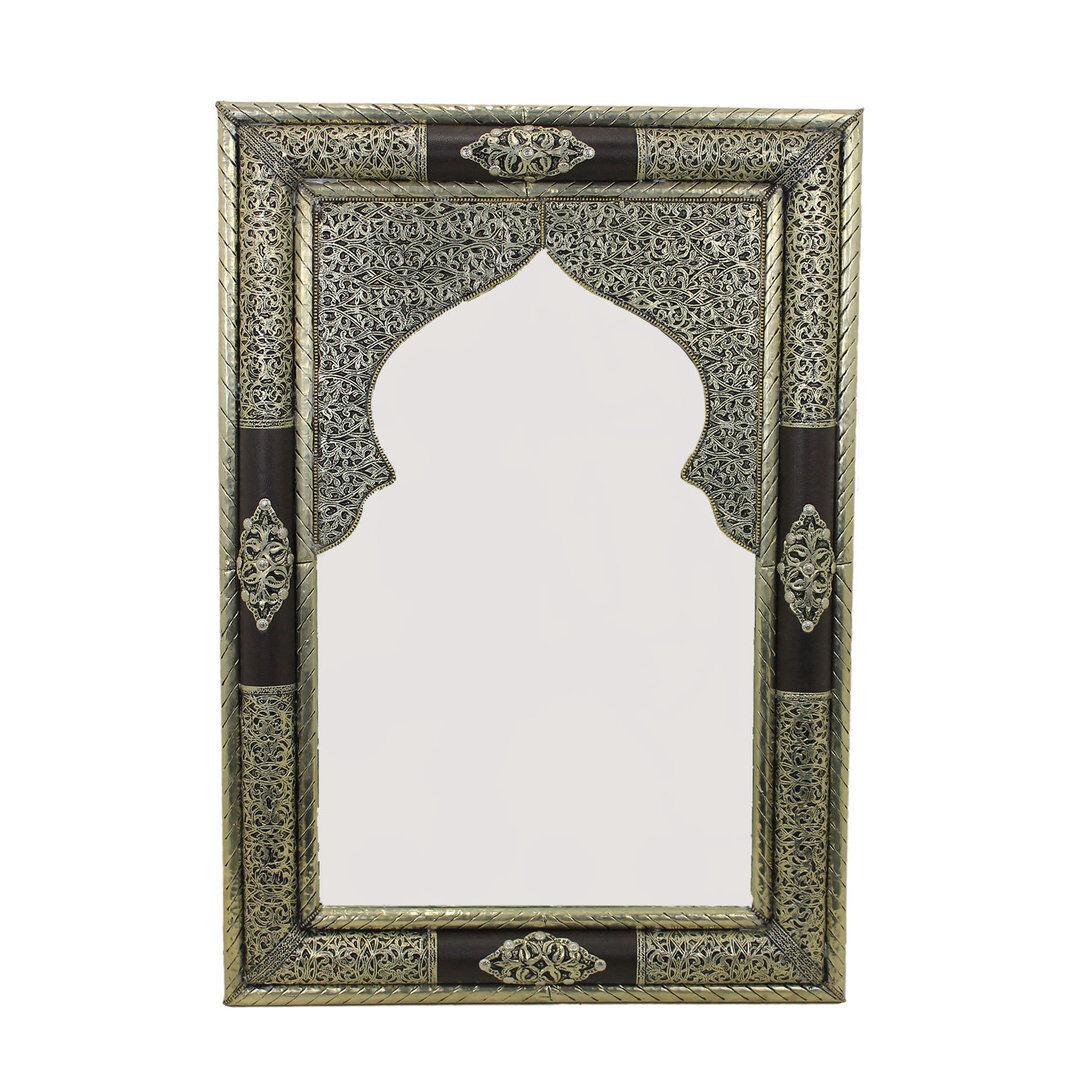 Wandspiegel Dekoration Spiegel Orientalisch Flurspiegel Badspiegel  Bilal  80x56
