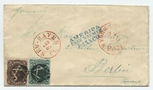 1860s-68-76-15-ct-cover-New-Haven-to-Prussia-fancy-cancel-6-point-star-y4172