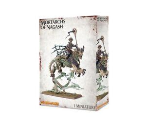 Warhammer Age Of Sigmar Arkhan La Boîte Blanche En Plastique Blanche Nouveau