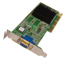 Dell ATI Rage 128 Ultra 16MB 2G823 02G823 Low Profile SFF AGP VGA Video Card