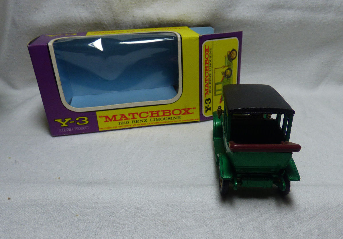 Matchbox -    Models of Yesteryear  Y-3 1910 Benz Limousine    OVP e3e4e8