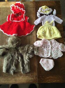 Baby Born Annabelle Vêtements Zaff Creations Manteau Fourrure Crochet Chapeaux Robes-afficher Le Titre D'origine Aussi Efficacement Qu'Une FéE