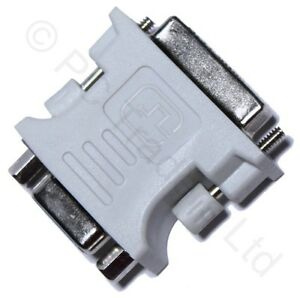 DVI-Male-to-VGA-15-Pin-Female-Video-Card-Adapter-Convertor-Monitor-LCD