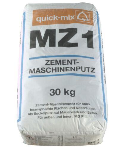 1 kg -10 kg Sockelputz Aussenputz MZ 1 Unterputz Zementputz Maschinenputz