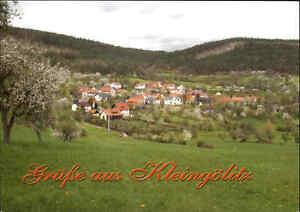 Gruss-aus-KLEINGOLITZ-bei-Blankenburg-Thueringen-color-Postkarte-Ansichtskarte