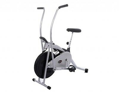 Lifeline DX exercise deluxe cycle air bike dual action steel body for home gym