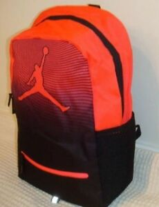 864d939cc54 Image is loading NIKE-JORDAN-JUMPMAN-DAYBREAKER-YOUTH-BACKPACK-BLACK-RED-