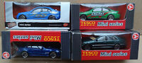 Tesco / Realtoy Mini Series Cars - Mercedes Benz C Class / Sl / Clk (4x Cars)