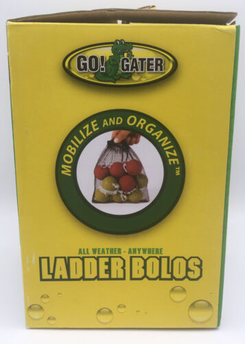 Go Gator 6 Replacement Red /& Yellow All Weather Ladder Bolos /& Carrying Bag New