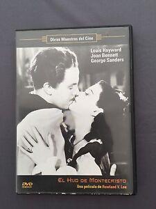 DVD-EL-HIJO-DE-MONTECRISTO-Louis-Hayward-Joan-Bennet-George-Sanders-ROWLAND-LEE