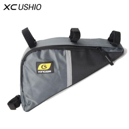 Waterproof Bicycle Front Triangle Bag Mountain Road Bike Tube Frame Tool Bag