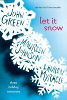 Let It Snow: Three Holiday Romances By John Green, (paperback), Speak , New, Fre