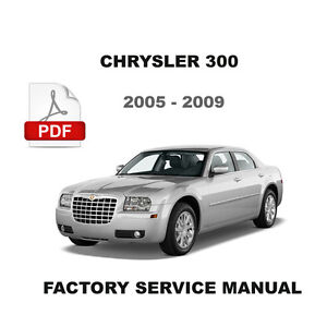 chrysler 300 2005 2009 oem all wheel drive awd service. Black Bedroom Furniture Sets. Home Design Ideas
