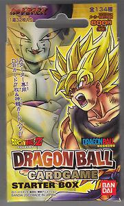 Dragon Ball Card Game Vol 1 Starter Deck Sealed 32 Cards ...