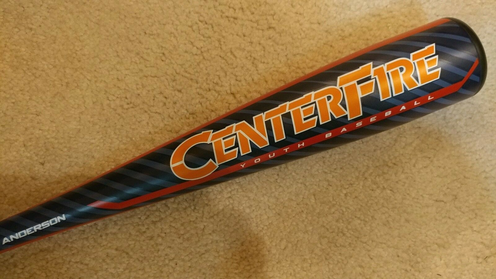 """ANDERSON 2019 USA CENTERFIRE 28inch 18ounce  2 5 8"""" YOUTH BASEBALL 150362818"""