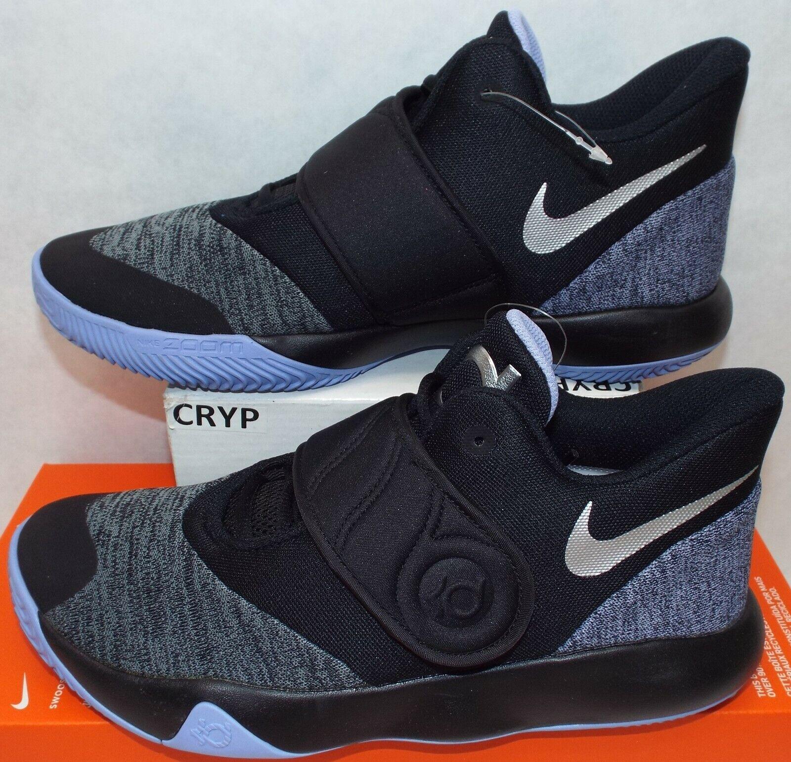 Rare échantillon non produites pour homme 9 NIKE KD Trey VI 5 NOIR VIOLET Chaussures AA7067-004