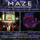 Live in New Orleans/Live in Los Angeles [Deluxe Edition] * by Maze (CD, Mar-2016, 2 Discs, Robinsongs)