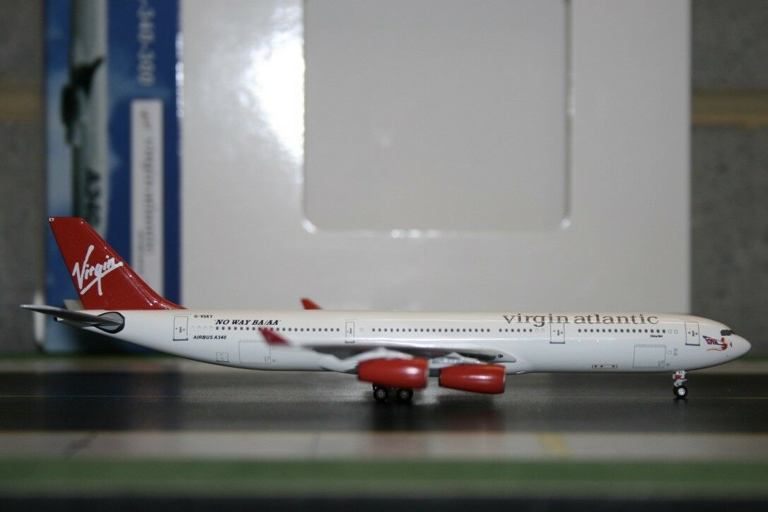 Aeroclassics 1 400 Virgin Atlantic Airbus A340-300 G-VSKY (ACGVSKY) No Way BA AA