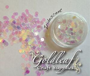 Nail art glitter studs sequin discs dots 3mm iridescent ebay image is loading nail art glitter studs sequin discs dots 3mm prinsesfo Image collections