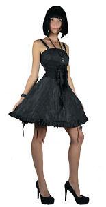 tripp nyc winona black taffeta gothic prom sexy corset
