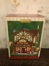 LEMAX FEZZIWIG'S CHRISTMAS SHOPPE NEW BOXED 2014 45742
