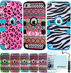 Heavy-Duty-Shockproof-Case-Cover-For-Apple-iPod-Touch-7th-6th-amp-5th-Generation