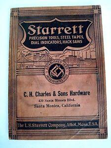 1938-Starrett-Precision-Tools-Catalog-Advertising-C-H-Charles-amp-Sons-Hardware