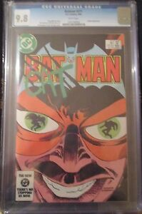 BATMAN #371 CGC 9.8 -- WHITE PAGES! CATMAN! MOENCH! HANNIGAN/GIORDANO COVER